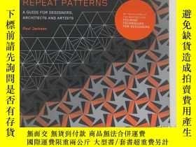 二手書博民逛書店How罕見to make repeat patterns 怎樣制作重復圖案Y247848 Paul Jacks