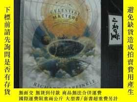 二手書博民逛書店英文原版罕見celestial matters RICHARD