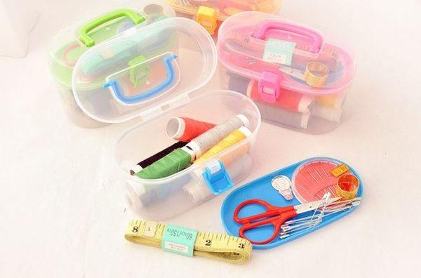 多功能居家縫補針線盒便攜式針線盒便攜式針線套裝針線包24件套59元