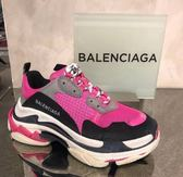 ■專櫃84折■Balenciaga Triple S 女款 運動鞋 粉色 IT 36/ 37/38 / 39 /40