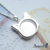 《 SilverFly銀火蟲銀飾 》貓咪寶盒純銀項鍊銀飾 骨灰銀飾