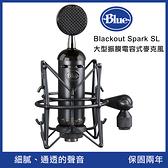 BLUE Blackout Spark SL 大型振膜 電容式麥克風 公司貨 黑色 Vlog 直播錄音 兩年保固