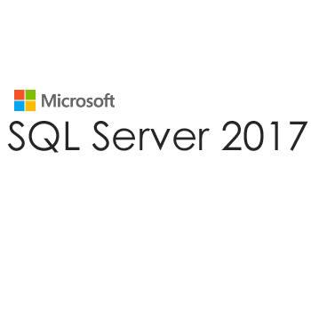 Microsoft SQL Server 2017 標準授權版【伺服器 + 4用戶端存取使用權端(CAL)】(可降級為2016/2014等舊版SQL)