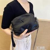 軟皮小包包女2020新款女包時尚單肩包多層手拿包簡約斜跨包潮女包 雙十一免運