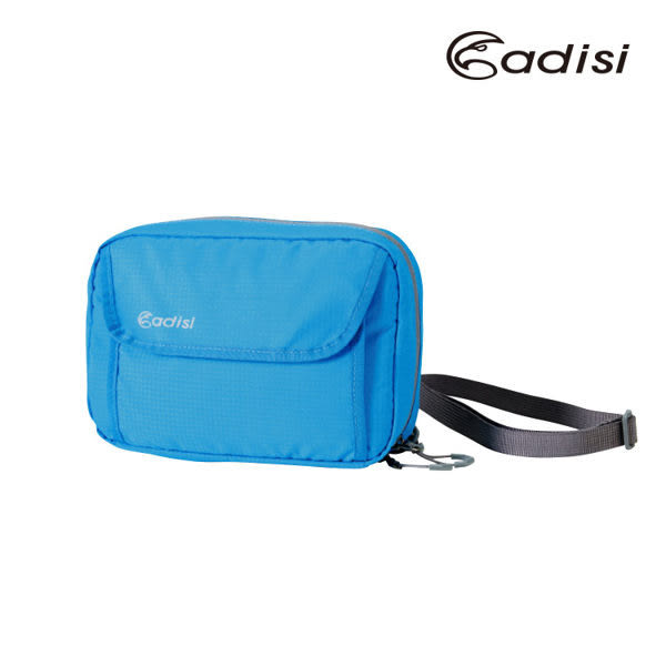 ╭OUTDOOR NICE╮ ADISI 胸前掛包 (L) AS16076 亮藍色 登山包外掛 透氣 收納包 健行包 側背包 斜背包