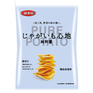 湖池屋純粹薯-極品岩鹽味76G【愛買】