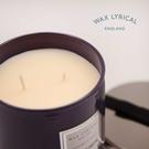 英國PM-WAX LYRICAL茉莉紅茶雙蕊香氛蠟燭-玻璃裝含蓋