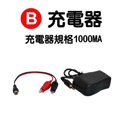 B升級台製充電器 (單驅車專用)