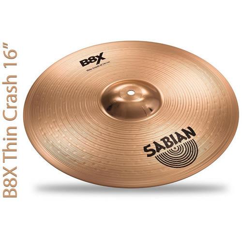 【敦煌樂器】Sabian B8X Performance 45003X 銅鈸套組