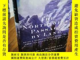 二手書博民逛書店The罕見North-West Passage by Land