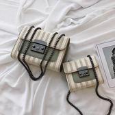 側背包 高級感法國小眾包包女夏天小清新流行時尚洋氣帆布斜背包 【唯伊時尚】