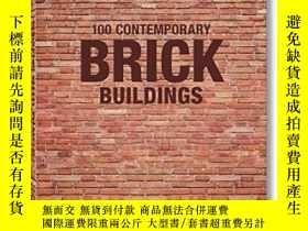 二手書博民逛書店100罕見Contemporary Brick Building