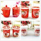 結婚慶用品對杯創意禮物紅色水杯新娘回禮杯子套裝情侶杯禮盒特價