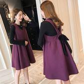 孕婦秋裝套裝時尚款韓版加厚外出潮媽兩件套秋款優家小鋪