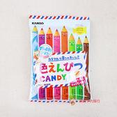 日本糖果 甘樂-色鉛筆水果糖80g【0216團購會社】4901351018491