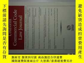 二手書博民逛書店UNIFORM罕見COMMERCIAL CODE LAW JOURNAL 02 2017 統一商法法典法律學術原版
