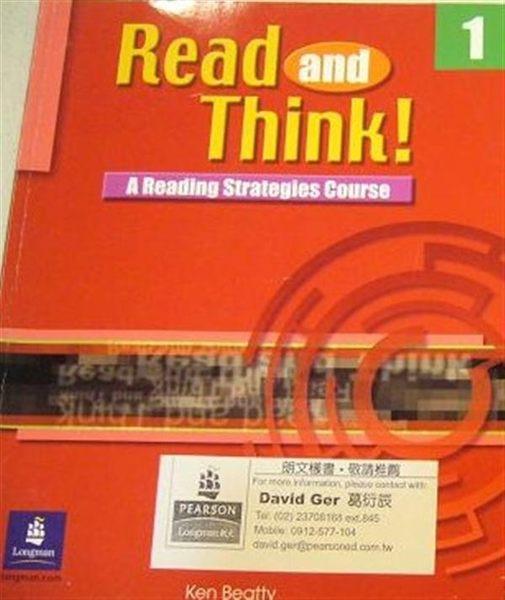 (二手書)READ AND THINK! (1).