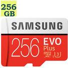 Samsung  256GB 256G microSDXC【100MB/s】microSD SD SDXC EVO Plus UHS U3 4K C10 MB-MC256G 三星 手機記憶卡