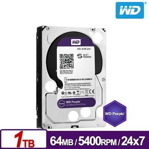 WD10PURZ 紫標 1TB 3.5吋監控系統硬碟