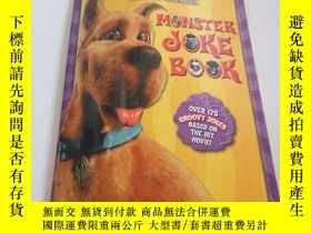 二手書博民逛書店HONSTER罕見JOKE BOOK(英文)Y200392 SC
