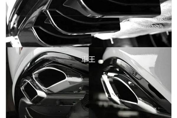 【車王汽車精品百貨】日產 Nissan Super Sentra 雙出尾管 大包 小包 後包圍 後下巴 後保桿