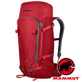 【MAMMUT 長毛象】Trion Pro 防水登山後背包50+7L『熔岩紅/深紅』2510-02222