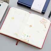 彩頁日記本筆記本文具本子手繪本學生日記本