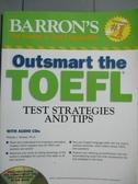 【書寶二手書T9/語言學習_XCG】Barron s Outsmart the TOEFL-Test Strategie