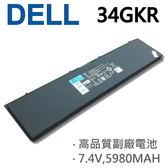 DELL 4芯 34GKR 日系電芯 電池 Latitude E7440 E7450 14-7000