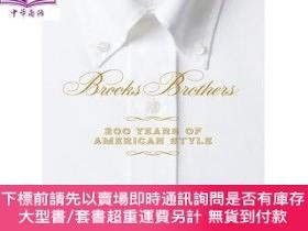 二手書博民逛書店罕見原版 布克兄弟:美國風格200年 英文原版 Brooks BrothersY454646 Kate Bet