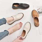 2020小皮鞋女春2018秋季新款韓版百搭內增高單鞋黑色學生女鞋子潮