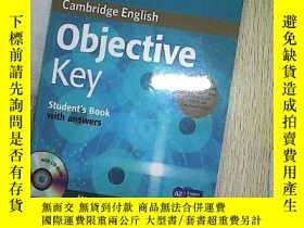 二手書博民逛書店Objective罕見Key Students Book Wit