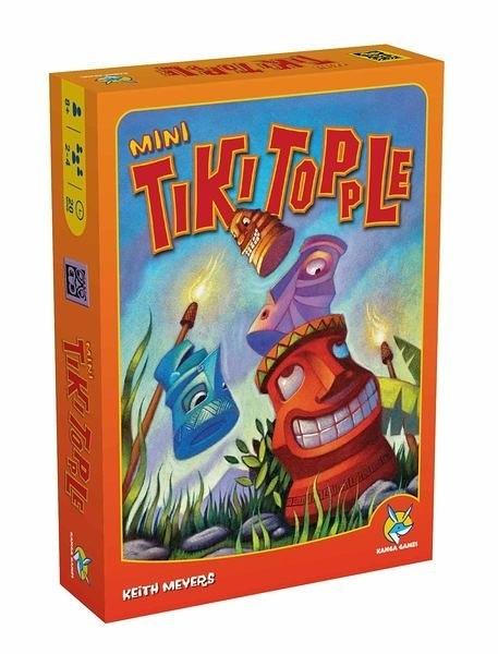 【Kanga 楷樂】推倒提基-迷你版 Tiki Topple Mini 桌上遊戲