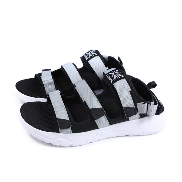 KANGOL 涼鞋 戶外 男鞋 灰色 6951230111 no104