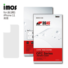 iMos Apple iPhone 11 3SAS 背面保護貼