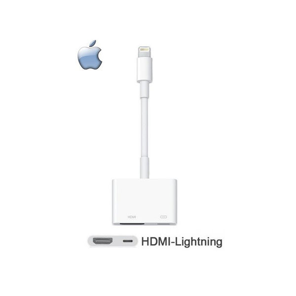 ▼【神腦貨 盒裝】Apple Lightning Digital AV 原廠轉接器 HDMI 傳輸線 iPhone 5 5c 5s SE 6 6S 7 8 Plus X iPod touch