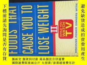 二手書博民逛書店FOODS罕見THAT CAUSE YOU TO LOSE WEIGHT IIY20470 Mercedes