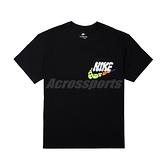 Nike 短袖 NSW Tee 男款 黑 彩 小口袋 重磅 寬版 膠印【ACS】 DJ1344-010