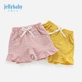 女童短褲 女童短褲1一3歲小兒童夏季洋氣夏嬰兒褲子夏天薄款外穿女寶寶夏裝【快速出貨】