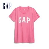 Gap女裝活力亮色圓領短袖T恤544923-螢光粉