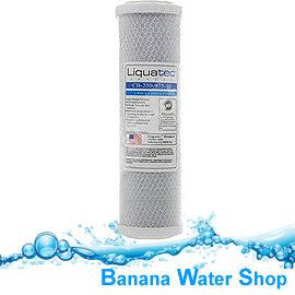 【Banana Water Shop】Liquatec壓縮柱狀活性碳濾心10吋CTO【高效能有效除氯抑菌】
