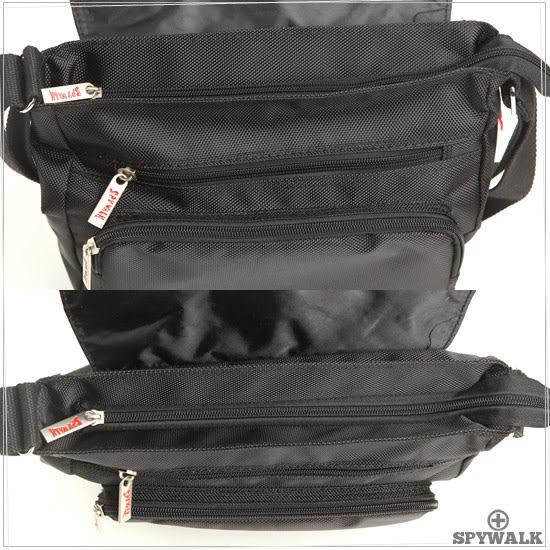 DF BAGSCHOOL - 紳士品格簡約實用款側肩包-大