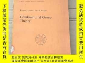 二手書博民逛書店combinatorial罕見group theory(P2090)Y173412