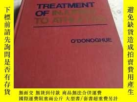 二手書博民逛書店TREATMENT罕見OF INJURIES TO ATHLET
