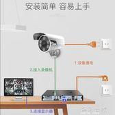 攝像頭喬安模擬監控攝像頭有線高清紅外夜視室外防水家用cctv監控器探頭 海角七號