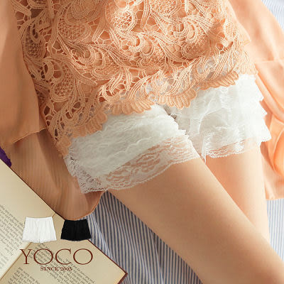 東京著衣【YOCO】蛋糕蕾絲內搭短褲(5003704)