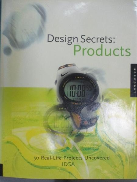 【書寶二手書T3/設計_HMX】Design Secrets: Products: 50 Real-Life Proje