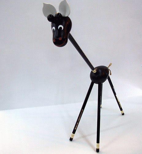 捷克製KOH-I-NOR 素描鉛筆(手工製造長頸鹿造型組)5支組*HB