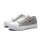 CHAMPION 灰 小LOGO 基本款 帆布鞋 休閒鞋 女 (布魯克林) 922220222