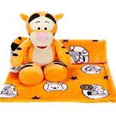 【美國 ZOOBIES X DISNEY】迪士尼mini造型玩偶毯mini Tiger_迷你跳跳虎】